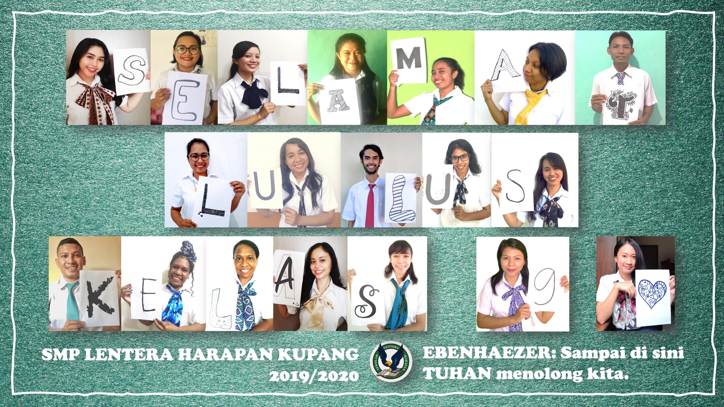 Foto Ucapan Selamat dari Guru-Guru